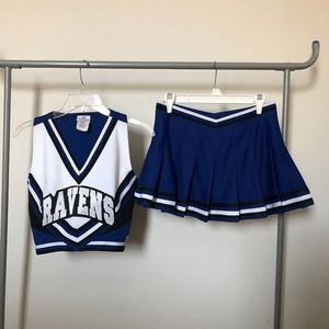 99de460345c One Tree Hill Ravens Cheerleader Uniform - 4 Piece